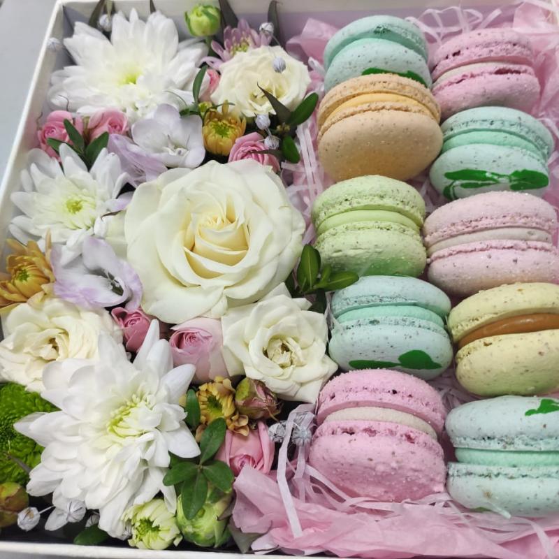 Букеты со сладостями