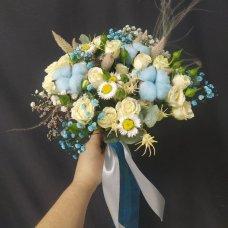 Букет невесты Небесный